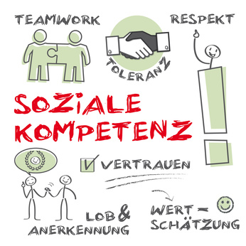 Die firma home soziale kompetenz soft skills teamwork