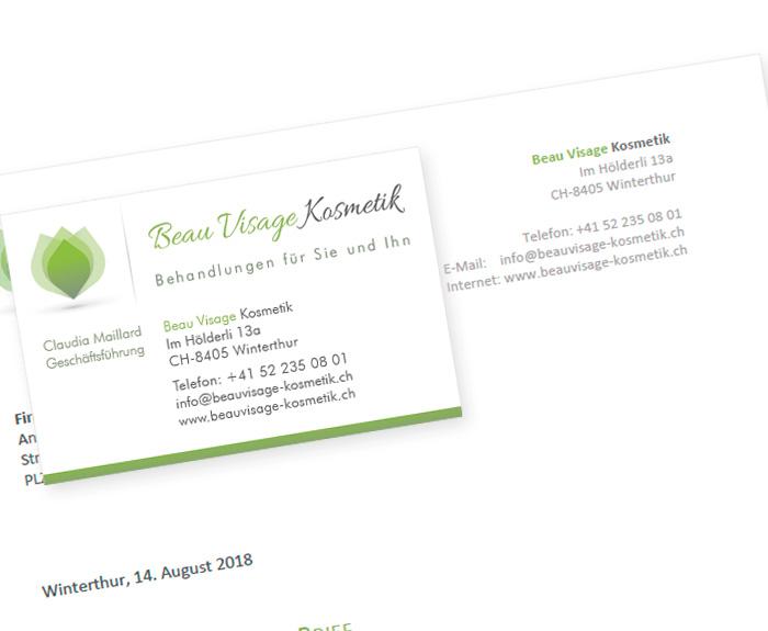 Neue Firmenwebsite Und Gestaltung Von Logo Und Drucksachen